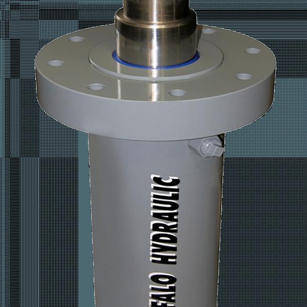 Flange Mount Hydraulic Cylinder