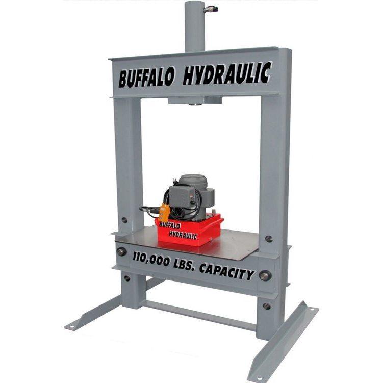 BVA - Buffalo Hydraulic Electric Hydraulic Press - Buffalo