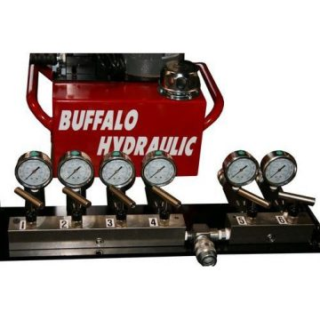 BVA Multi Port Hydraulic Manifold Assembly