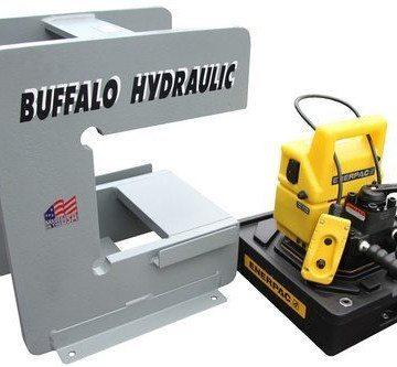 Buffalo Hydraulic Custom Electric Hydraulic C Press