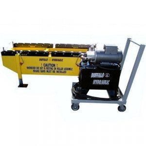 buffalo hydraulic custom die set roller assembly