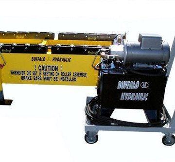 Buffalo Hydraulic Custom Hydraulic Die Set Roller Assembly