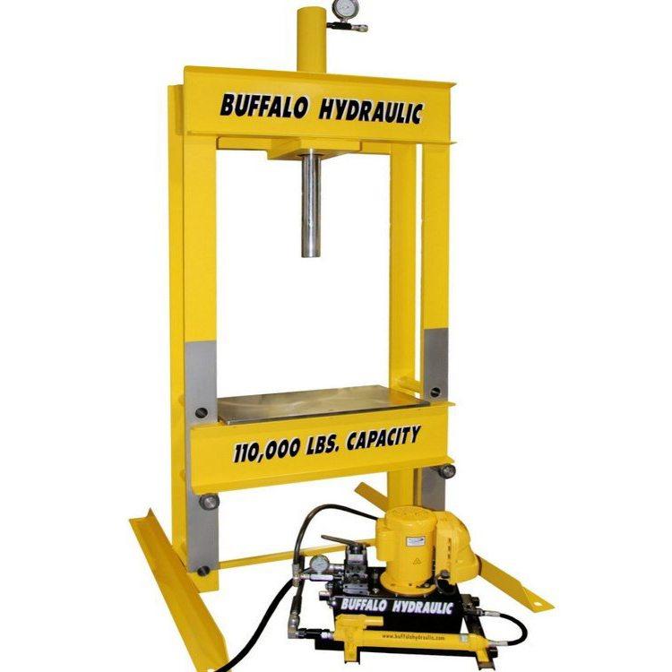 Hydraulic Loading Arms : Buffalo hydraulic custom presses