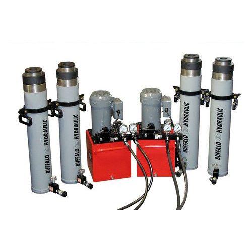 Buffalo Hydraulic Custom Through Hole Lock-Nut Hydraulic Cylinders