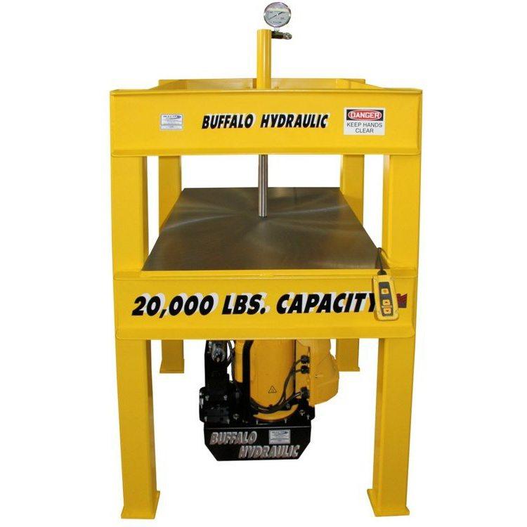 Buffalo Hydraulic 60 Tons Capacity Electric Hydraulic