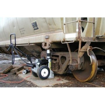 Buffalo Hydraulic Electric Hydraulic Railcar Jacks - 1