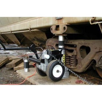 Buffalo Hydraulic Electric Hydraulic Railcar Jacks - 2