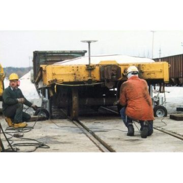 Buffalo Hydraulic Electric Hydraulic Railcar Jacks - 3