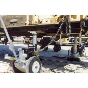 Buffalo Hydraulic Electric Hydraulic Railcar Jacks - 4
