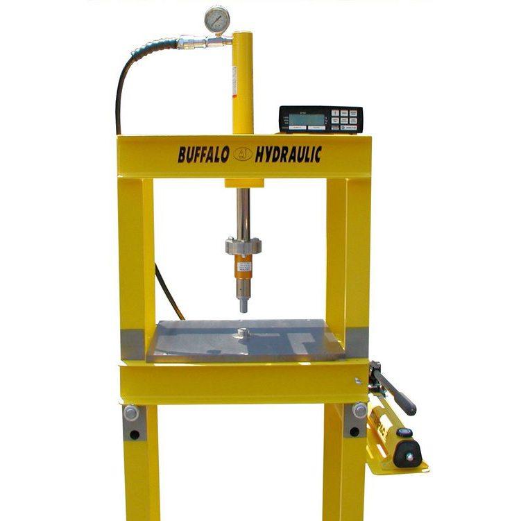 Buffalo Hydraulic Electronic Load Cell Presses - Buffalo Hydraulic