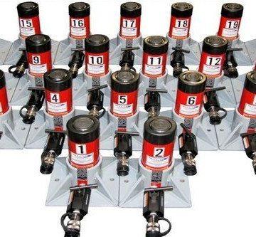 Buffalo Hydraulic High Tonnage Hydraulic Jacking Cylinders