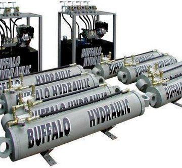Buffalo Hydraulic High Tonnage Hydraulic Jacking Systems - 1
