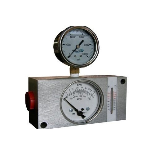 Buffalo Hydraulic Hydraulic Flow Meter
