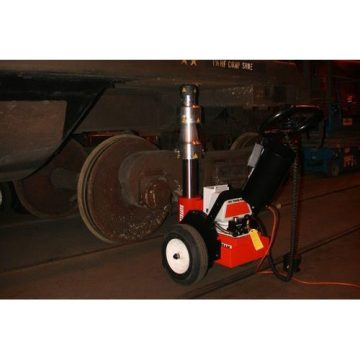 SPX Power Team 230 VAC Hydraulic Railcar Jacks - 3