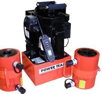 SPX Power Team Custom Electric Hydraulic Post Tensioning System