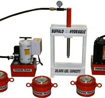 SPX Power Team Custom Hydraulic Presses - High Tonnage Hydraulic Jacking Systems