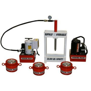 SPX Power Team Custom Hydraulic Presses - High Tonnage Hydraulic Jacking Systems