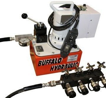 SPX Power Team Electric Hydraulic Pumps