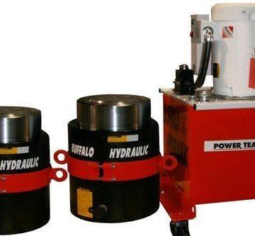 SPX Power Team Hydraulic Jacking Systems