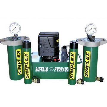 TK Simplex - Buffalo Hydraulic High Tonnage Hydraulic Pump & Cylinder Sets