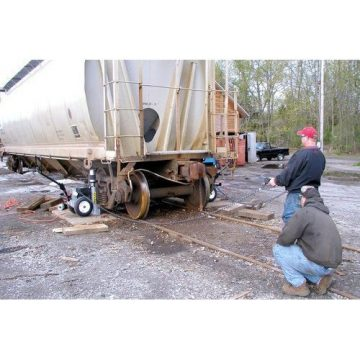 TK Simplex Electric Hydraulic Railcar Jacks - 1