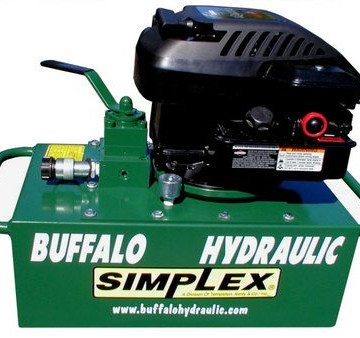 TK Simplex Gas Engine Hydraulic Pump