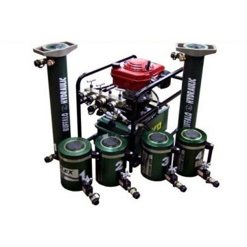 TK Simplex High Pressure High Tonnage Hydraulic Jacking System