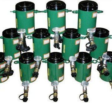 TK Simplex High Tonnage Hydraulic Jacking Cylinders