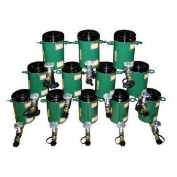 TK Simplex High Tonnage Hydraulic Locknut Cylinders