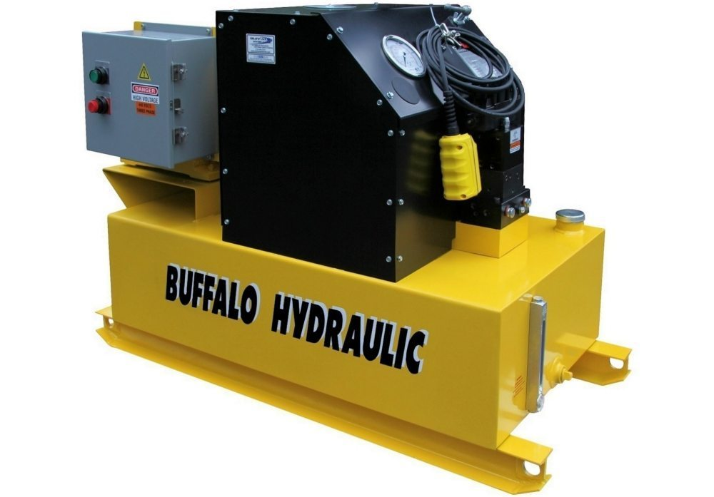 High Pressure Hydraulics : Enerpac series high volume hydraulic pumps buffalo