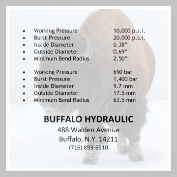 Hose Specifications